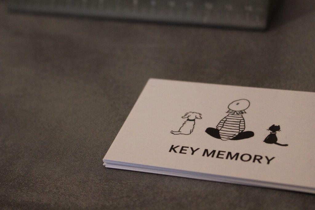 KEY MEMORYショップカード